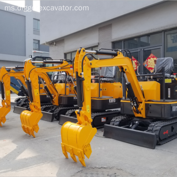 1 Ton Mini Crawler Excavator Wholesale Digger